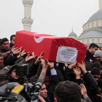 Denizlili Şehidimiz Ankara'da defnedildi.