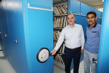 Depreme dayanıklı teknoloji arşiv sistemi kuruldu