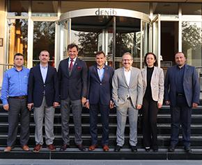 ENVER'den Başkan Kocasert'e ziyaret Enerji