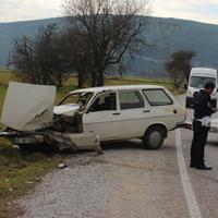 Muğla'da trafik kazası 4 yaralı