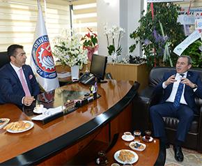 Tin'den Başkan Erdoğan'a ziyaret