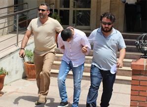 Polis, banka, mağdur işbirliği yaptı, dolandırıcı suçüstü yakalandı