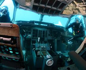 Batık uçak turizmin yeni ilgi odağı