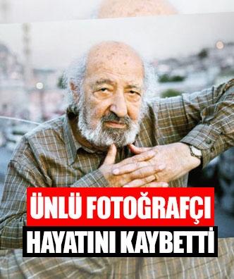 Ünlü fotoğrafçı hayatını kaybetti