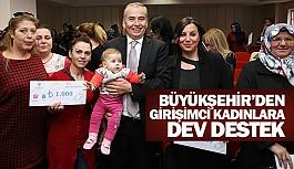 Büyükşehir'den girişimci kadınlara dev destek