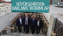 Büyükşehir'den Baklan'a yatırımlar