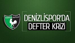 Denizlispor'da defter krizi