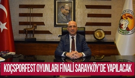 14.Türkiye Koçsporfest Üniversite Oyunları finali Sarayköy'de yapılacak