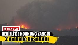 Denizli'de korkunç yangın