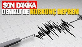 Denizli'de korkunç deprem