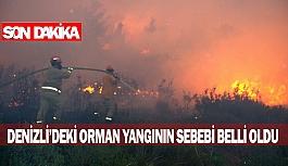 Denizli'deki korkunç yangının sebebi belli oldu