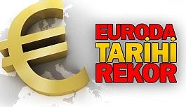 Euroda tarihi rekor
