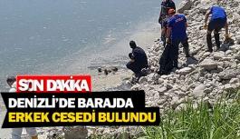 Denizli'de barajda erkek cesedi bulundu