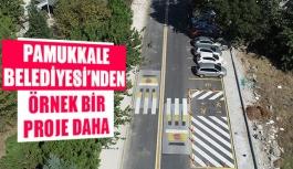 Pamukkale Belediyesi'nden örnek bir proje daha