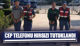 Cep telefonu hırsızı tutuklandı