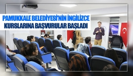 Pamukkale Belediyesi'nin ingilizce kurslarına başvurular başladı