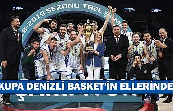 Kupa Denizli Basket'in ellerinde!
