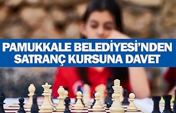 Pamukkale belediyesi'nden satranç kursuna davet