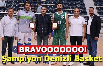 Şampiyon Denizli Basket