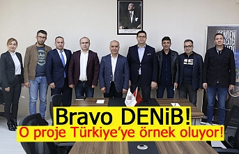 O proje Türkiye'ye örnek oluyor!