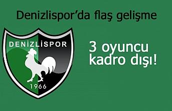 Denizlispor'da flaş gelişme