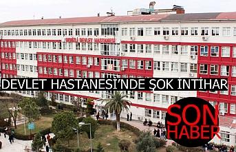 Denizli Devlet Hastanesi'nde şok intihar!