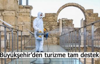 Büyükşehir'den turizme tam destek