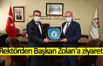 Rektörden Başkan Zolan'a ziyaret