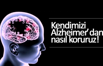 Kendimizi Alzheimer'dan nasıl koruruz!