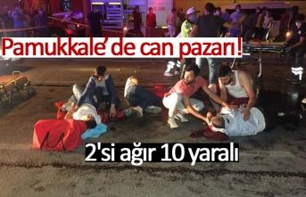 Pamukkale'de can pazarı!