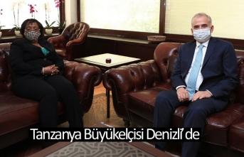 Tanzanya Büyükelçisi Denizli'de