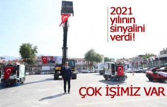 2021 yılının sinyalini verdi!