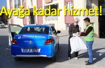 Başkan Örki, hizmeti ayağa götürdü!