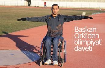 Başkan Örki'den olimpiyat daveti