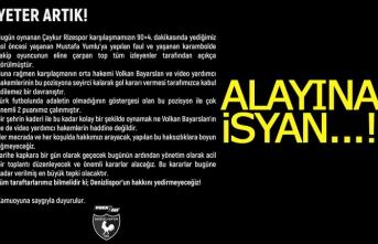 Denizlispor'dan alayına isyan!