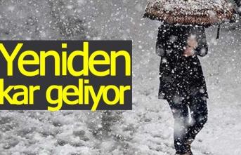 Bahar bitti, kar geliyor!