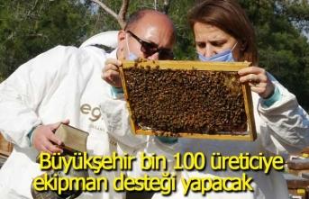 Bal ormanı projesinde 156 bin fidan toprakla buluşacak