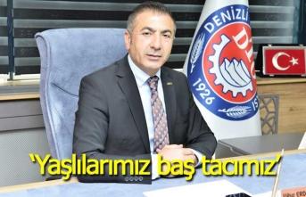 """Başkan Erdoğan: """"Yaşlılarımız, baş tacımız"""""""