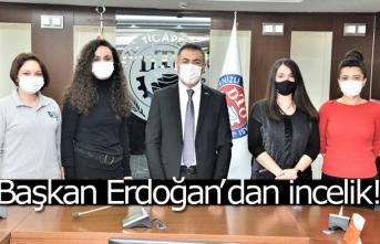 Başkan Erdoğan'dan incelik!