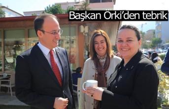 Başkan Örki'den tebrik