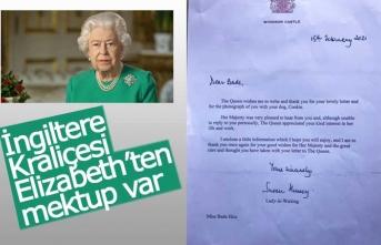 İngiltere Kraliçesi Elizabeth'ten mektup var