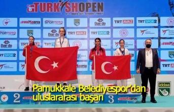 Pamukkale Belediyespor'dan uluslararası başarı