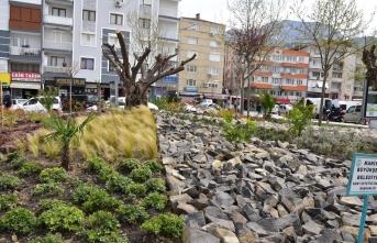Manisa'da 'kaya bahçesi' peyzajı