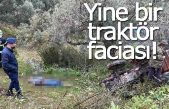 Yine traktör, yine ölüm!