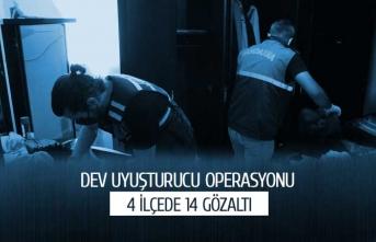 Dev uyuşturucu operasyonu