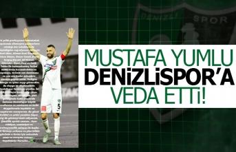 Mustafa Yumlu, Denizlispor'a veda etti