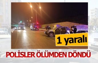 Polisler ölümden döndü