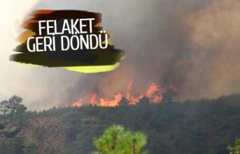 Yangın felaketi yeniden başladı