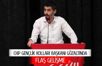 CHP Gençlik Kolları Başkanı gözaltında