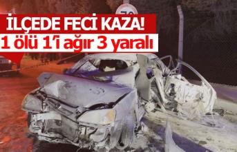 Korkunç kazada 1 kişi hayatını kaybetti